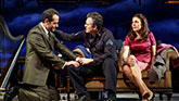 Tony Shalhoub as Walter Franz, Mark Ruffalo as Victor Franz and Jessica Hecht as Esther Franz in The Price on Broadway