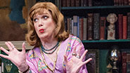 Charles Busch in The Tribute Artist.