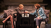 Uma Thurman as Chloe and Blair Brown as Jeanette in The Parisian Woman on Broadway.