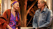 Estelle Parsons as Alexandra  & Stephen Spinella as Chris in 'The Velocity of Autumn'