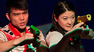 Telly Leung and Jennifer Lim in 'The World of Extreme Happiness'