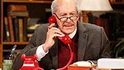 Tom Dugan as Simon Wiesenthal in off-Broadway's 'Wiesenthal'