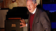 Tom Dugan as Simon Wiesenthal in off-Broadway's 'Wiesenthal'