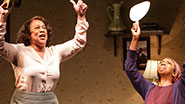 S. Epatha Merkerson as Maxine & Sharon Washington as Eva in 'While I Yet Live'
