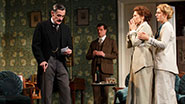 Henny Russell as Violet, Roger Rees as Arthur, Michael Cumpsty as Desmond Curry, Mary Elizabeth Mastrantonio as Grace and Charlotte Parry as Catherine in The Winslow Boy.