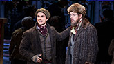 Zach Adkins and John Bolton in Anastasia on Broadway